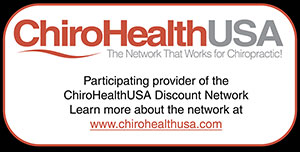 ChiroHealthUSA logo and ad